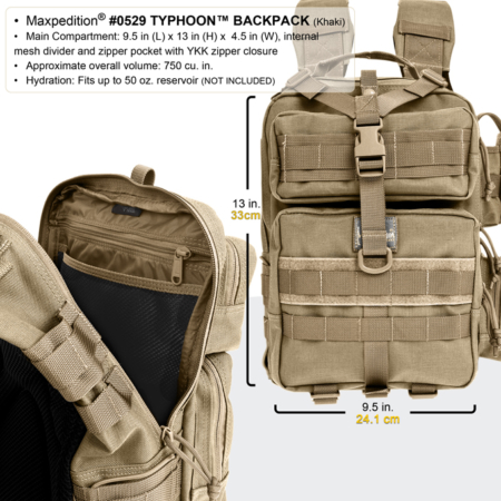 MP0259 * Typhoon Backpack