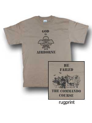 2003 * T-Shirt God is Airborne