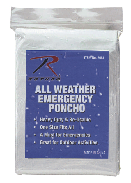 RC3681OD * All Weather Emergency Poncho