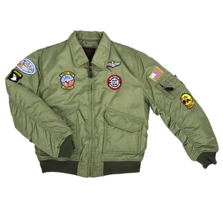 122421 * CWU Flight Jacket * Kids
