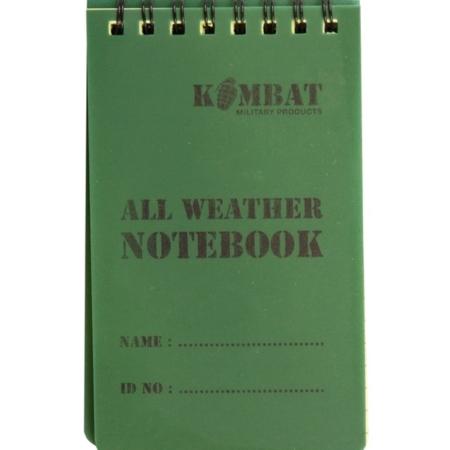 Mini Waterproof Notebook