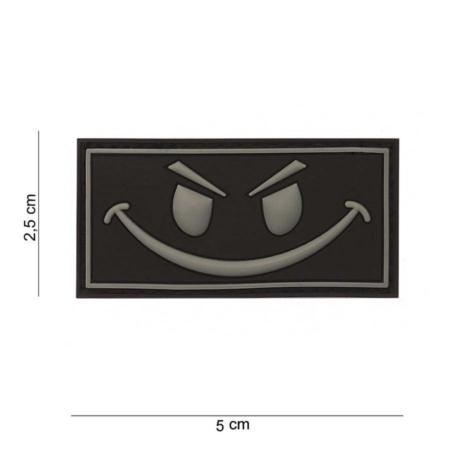 VO3501 Patch Evil Smiley