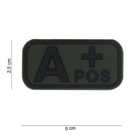 Patch 3D PVC Blood Type