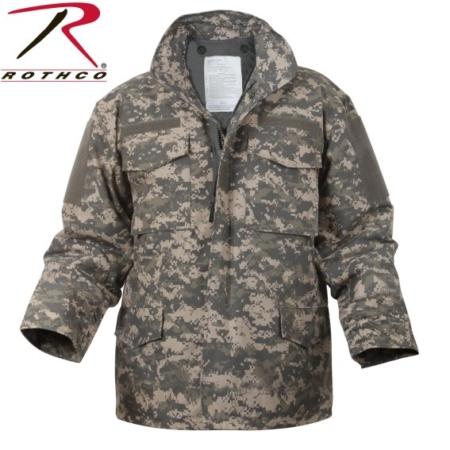 RC8540 * Digital Camo M-65 Field Jacket