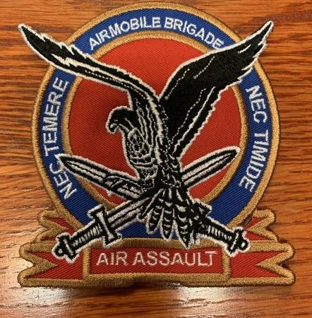 3020LMB * Borduur Badge Luchtmobiele Brigade